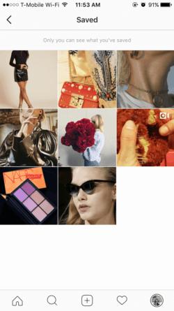 como guardar los post de instagram