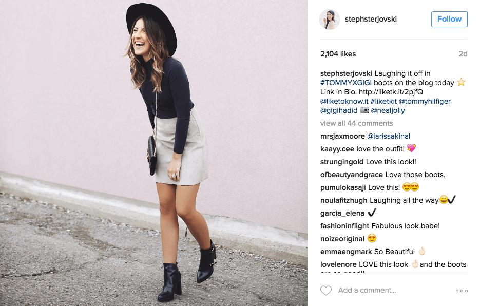 ejemplo para ayudarle a obtener seguidores activos de instagramas