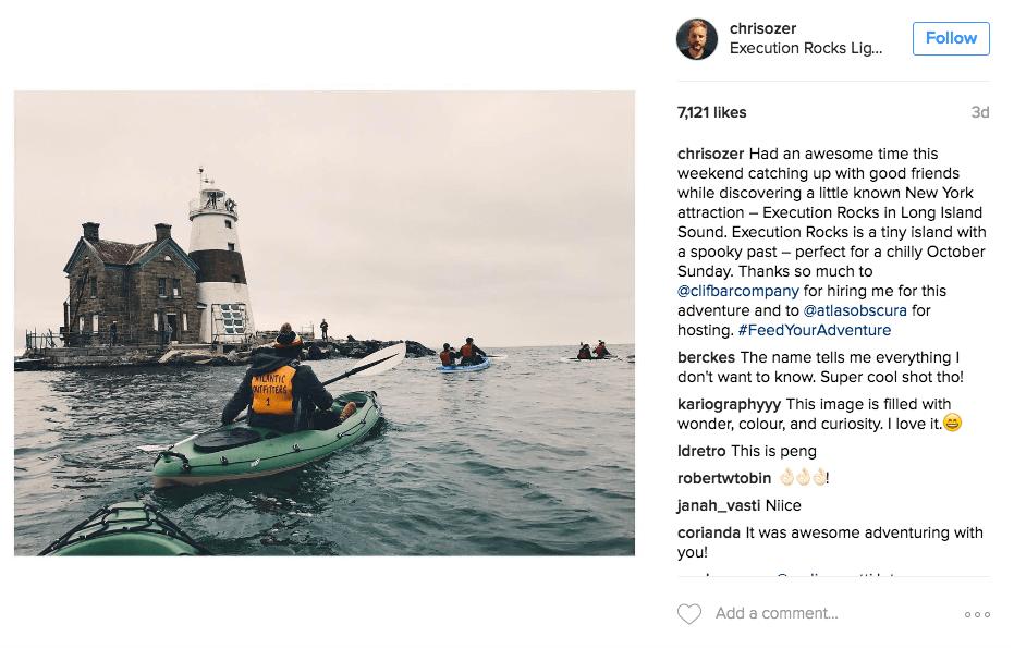 ejemplo de cómo conseguir seguidores activos de instagramación