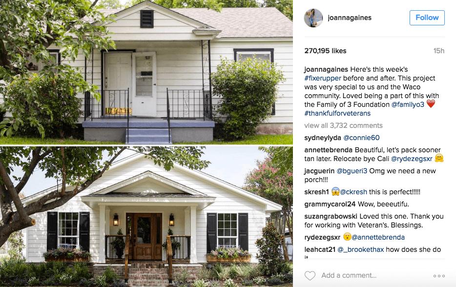 ejemplo de cómo usar hashtags en instagram