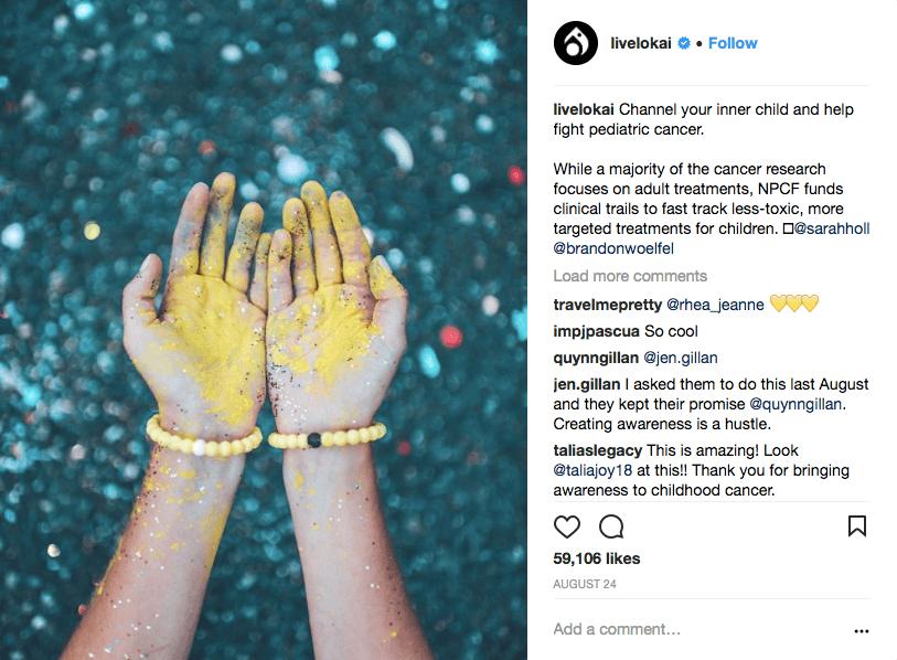 livelokai - usando instagram para su negocio